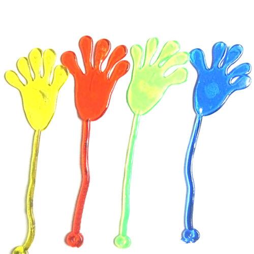 10pcs Mini Sticky Glitter Hands Party Favor Toys Novelties Prizes Kids Prof