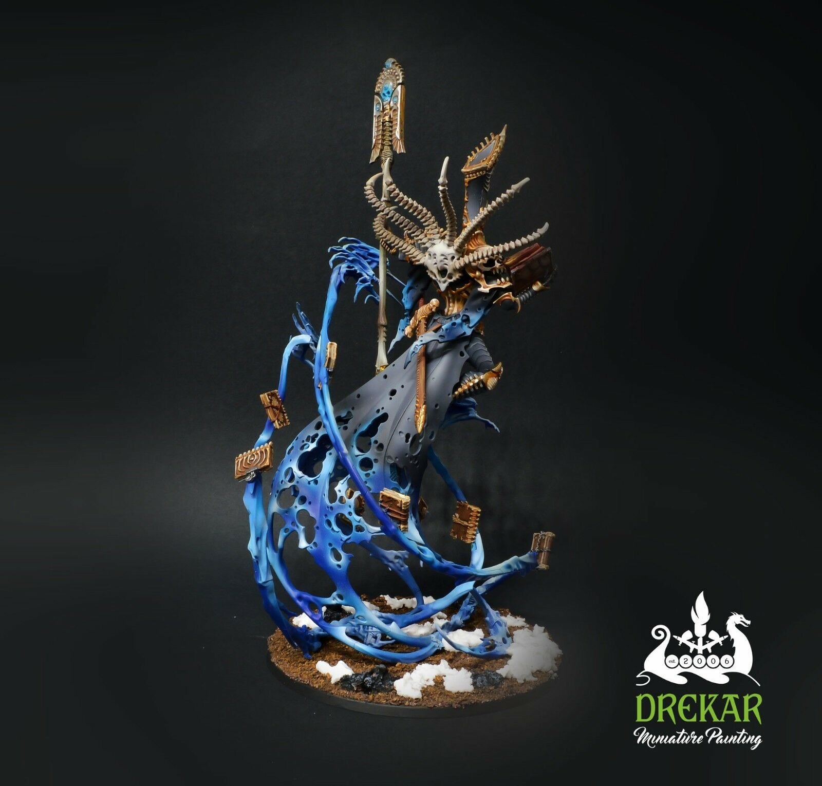 Nagash Lord of Undead Undead Undead Death Age of Sigmar  COMMISSION  painting 670c35