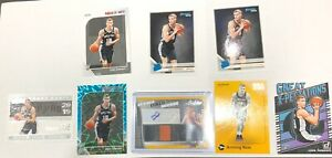 Luka-Samanic-Rookie-Card-Lot-8-2-Jersey-Auto-199-Teal-Explosion-Cool-Base