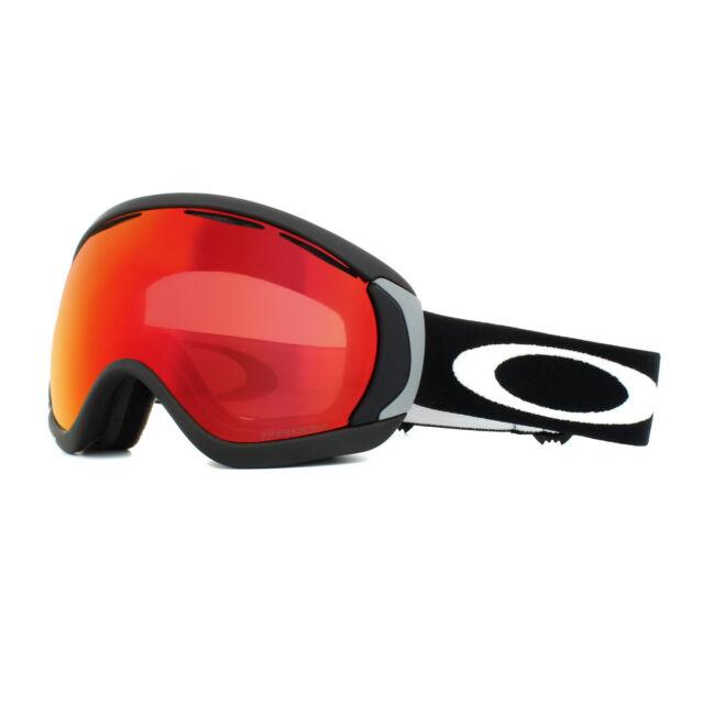 89072308b8f Oakley Ski Goggles Canopy OO7047-43 Matt Black Prizm Snow Torch Iridium