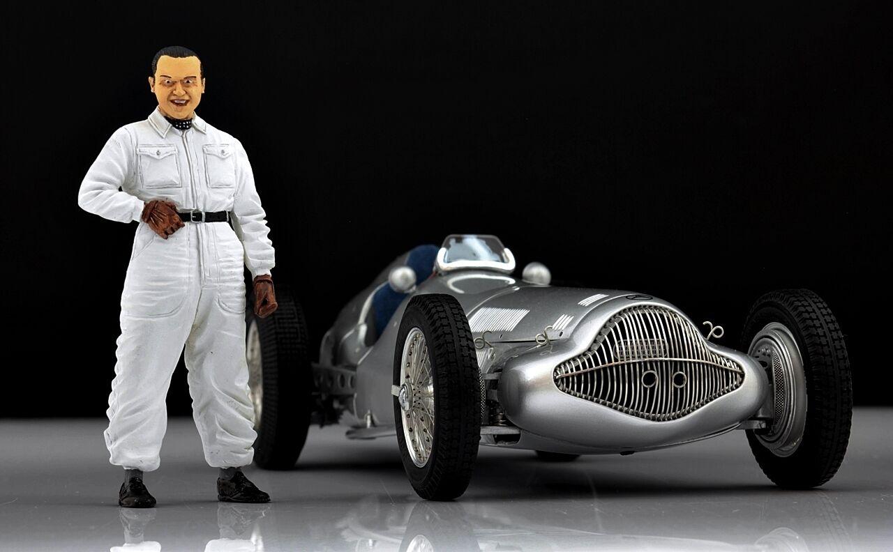 Rudolf Caracciola Figure pour 1 18 Mercedes W154 SSK CMC