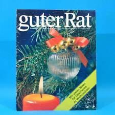 Guter Rat 4-1987 Verlag für die Frau DDR AKA Gyros Tierheim Berlin Projektoren A
