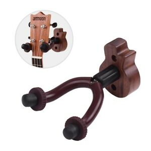 2 Pcs for Acoustic Guitar Wall Mount Hanger Wall Accessories Stand Holder Hook