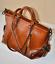 Women Large Leather Shoulder Bag Handbag Purse Fashion Brown//Black//Blue