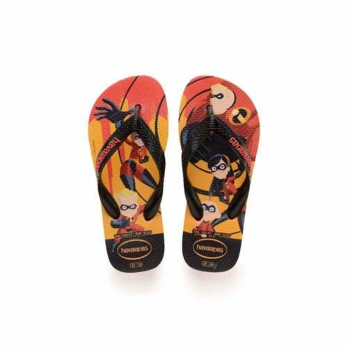 Havaianas OS INCRIVEIS 2 Disney Incredibles Unisex Kids Girls Boys Flip Flops