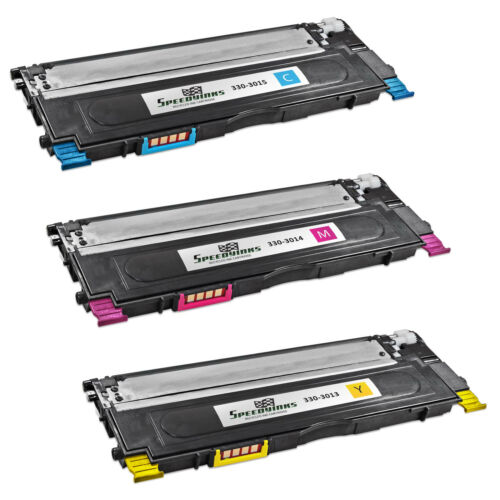 Cyan 330-3015 Magenta 330-3014 Yellow 330-3013 3pk For Dell 1230C 1235C 1235CN