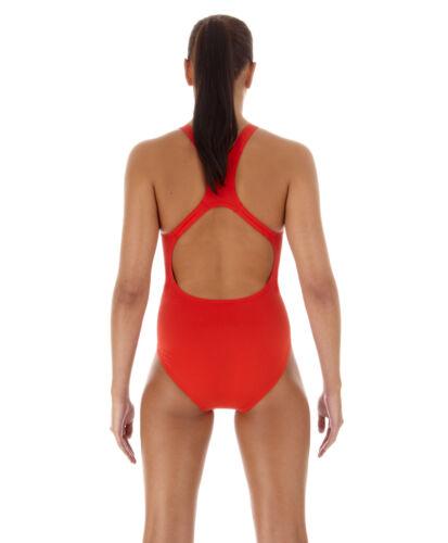 RED SWIM 6446 SPEEDO WOMENS SWIMSUIT SWIMMING COSTUME.NEW MEDALIST ENDURANCE