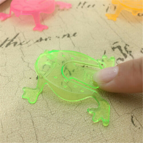 10PCS Jumping Frog Hoppers Game Kids Party Favor Kids Birthday Party Toys FJ