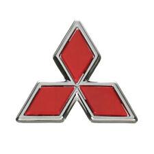 Oem 1994 2001 Mitsubishi Galant Amp Mirage Red Triple Diamond Emblem Mb882860 Fits 1999 Mitsubishi Mirage
