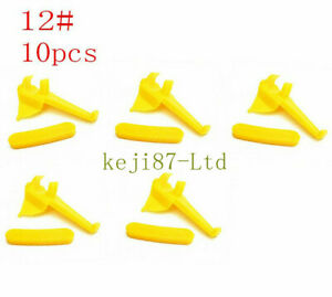 10pcs Tyre Changer Nylon Mount Demount Head Duckhead Insert Rim Protector 12#