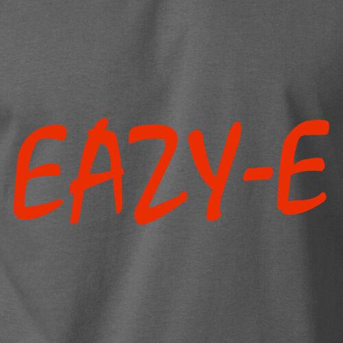 EAZY-E T-Shirt Old School Hip Hop Retro Rapper Vintage Wu Tan Ice Cube Music Tee