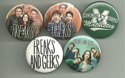Freaks and Geeks 1.5 inch Pin Badge Button 5 Piece set