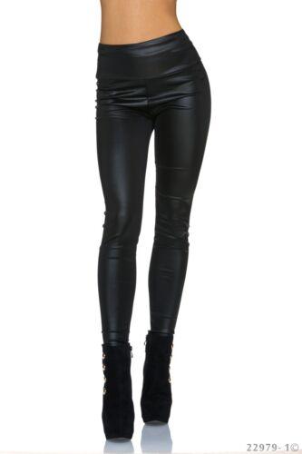 Legging taille haute Femme//Woman noir