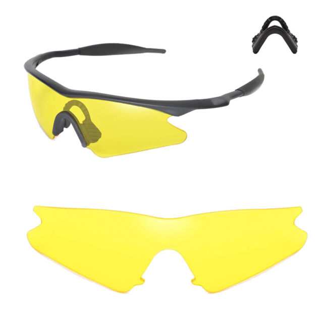 329549d399 New Walleva Yellow Replacement Lenses For Oakley M Frame Sweep Sunglasses