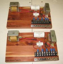 New Replacement Crossover Klipsch Type A Pair Cedar