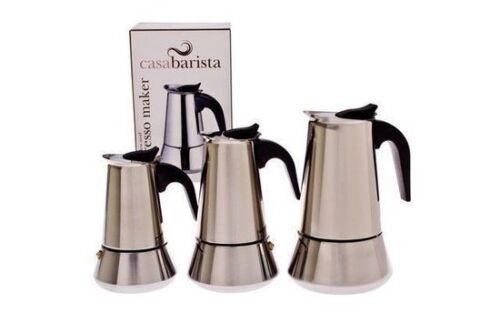 10 CUP Espresso Coffee Maker Percolator Perculator Stovetop CasaBarista