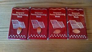 4-Brand-New-Souvenir-Penny-Books-For-Elongated-Cents-amp-3-FREE-PRESSED-PENNIES