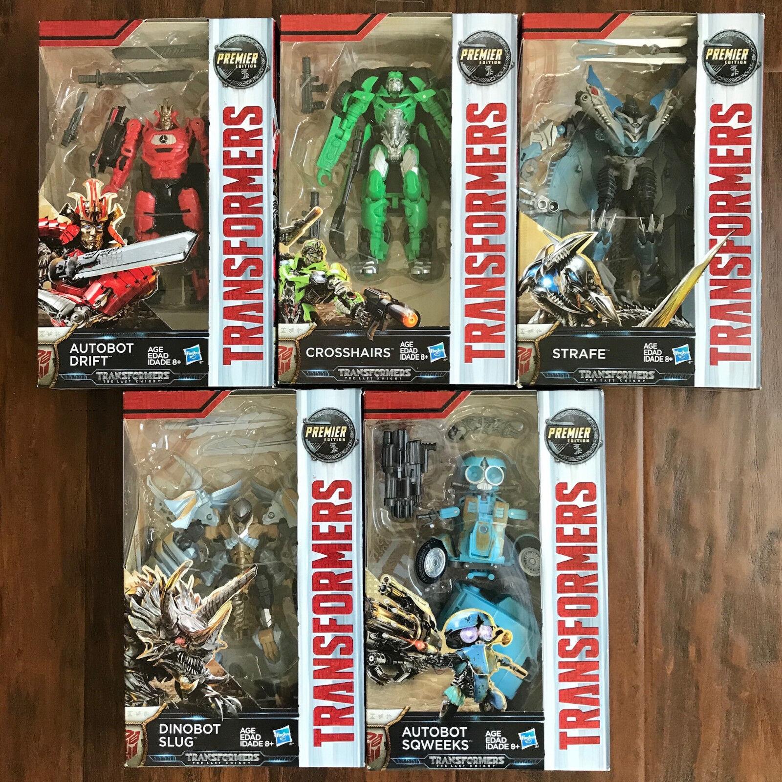 Seleccione de las marcas más nuevas como Transformers el último último último caballero lote de 5-Fina Deriva Strafe Dinobot sqweeks  Los mejores precios y los estilos más frescos.