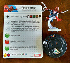 Spider-Man #004 from AvX with card Avengers vs. X-Men Heroclix set