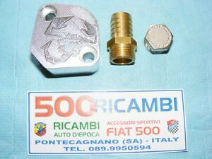 FIAT-500-F-L-R-126-TAPPO-ABARTH-SFIATO-OLIO-MOTORE-ED-ESCLUDERE-LA-POMPA-BENZINA