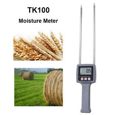 Portable Lcd Humidity Measurement Moisture Meter Tool For Grains Sawdust