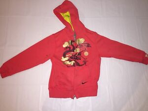 50% price high quality coupon codes Details about Childrens Nike Chinese Dragon Design Hoodie Sweatshirt Red  Gold 2012 Size M