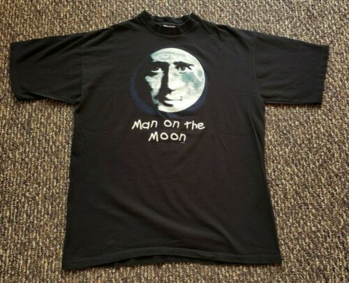Vintage 90s Jim Carrey Man On The Moon Movie Promo