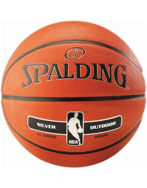 b0339203166 Spalding NBA Silver Outdoor Durable Rubber Max Grip And Control Basketball