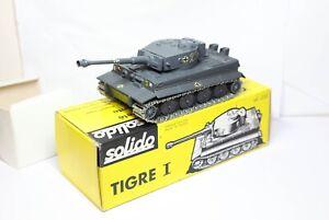 Solido-N-222-Tigre-Tiger-me-tanque-modelo-en-su-caja-original-muy-cerca-Perfecto