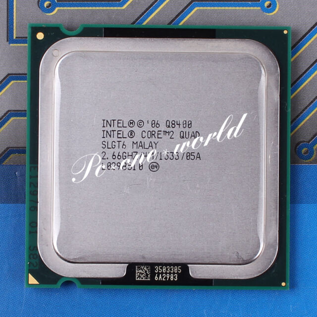 100% OK SLGT6 Intel Core 2 Quad Q8400 2.66 GHz Quad-Core Processor CPU