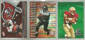 Warrick-Dunn-Buccaneers-Florida-State-173-card-1997-2009-lot-all-different