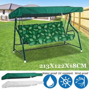 Garden-Patio-Outdoor-Swing-Chair-Anti-UV-Durable-Canopy-Spare-Cover