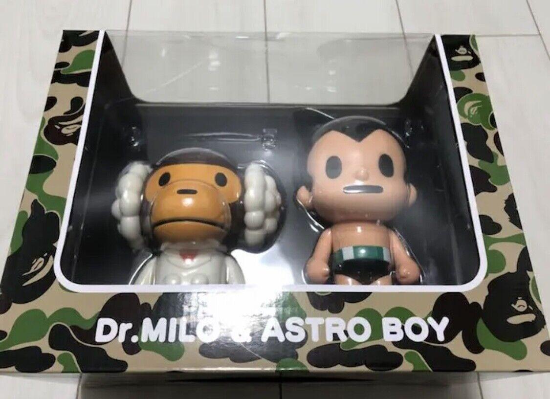 A BATHING APE Dr.MILO & ASTRO BOY cifra bambola SET MEDICOM giocattolo
