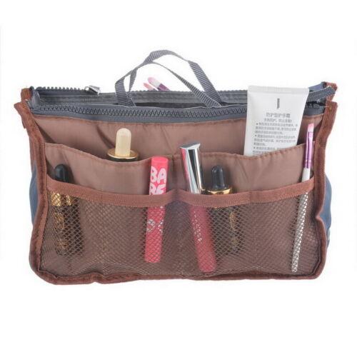 Travel Insert Organizer Handbag Purse Large Liner Lady/'s Makeup Organiser Bag