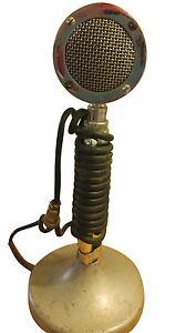 vintage astatic d 104 microphone w t ug8 stand ebay. Black Bedroom Furniture Sets. Home Design Ideas