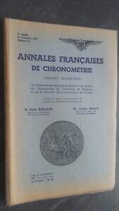 Brochure Annali Francesi Di Frequentemente N° 4/4E Trim. 1937 ABE