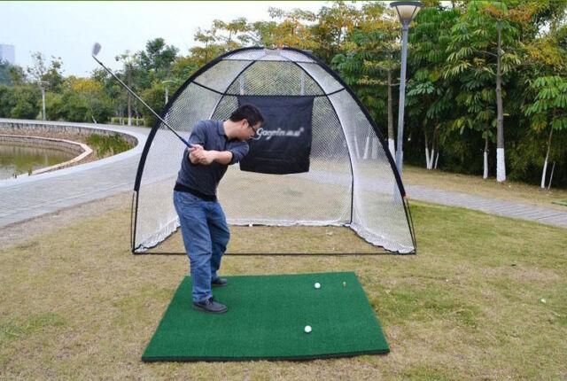 White 3M 210D Golf Practice Nets Encryption Oxford Fabric Golf Strike Net#