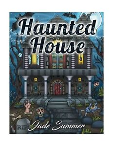 Details about HAUNTED HOUSE AN ADULT Coloring Book W Gothic Room Designs  Halloween Fantasy Cre