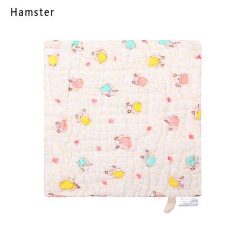 Infant Newborn Breathable Soft  Bath Towel Feeding Wipe Cloth Gauze  Washcloth