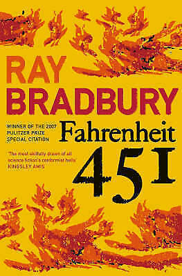 1 of 1 - Fahrenheit 451 By Ray Bradbury Paperback Book | NEW CLEARANCE STOCK