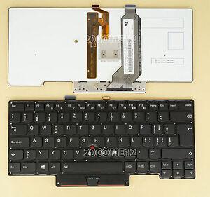 For LENOVO THINKPAD X1 carbon Gen 2nd 2014 keyboard Backlit Swiss Tastatur