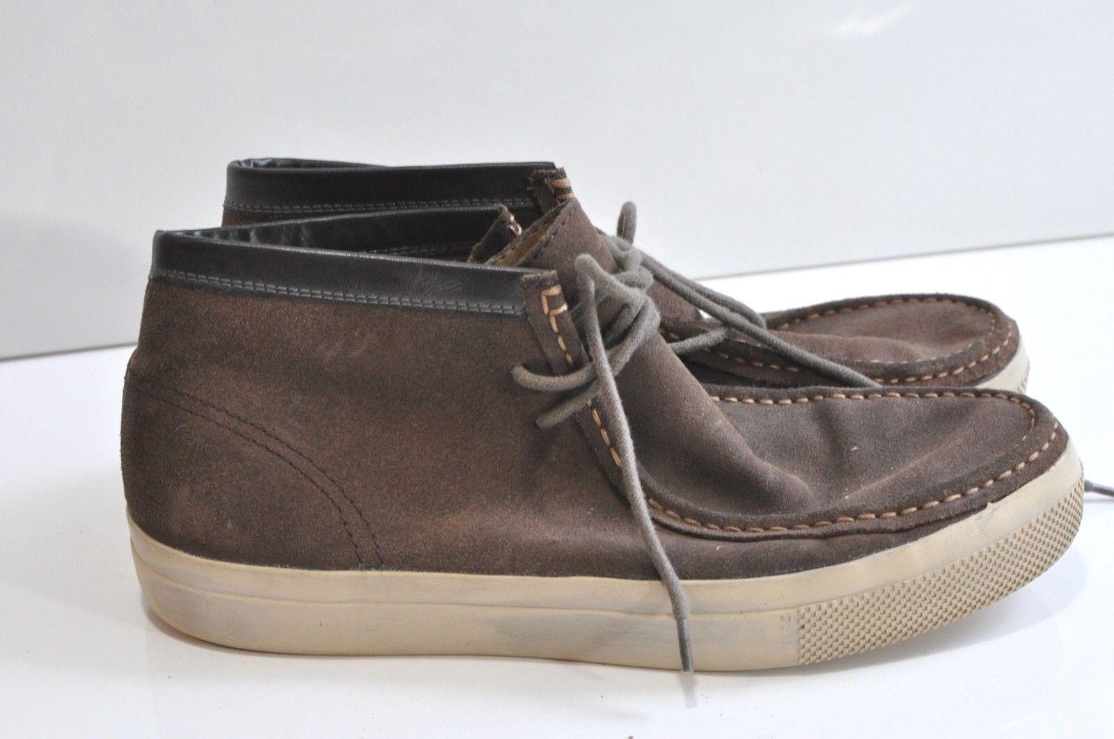 Von Dutch Spokes Mens leather sneakers size 9.5