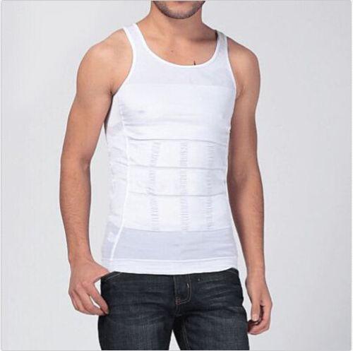 Men Body Slimming Tummy Shaper Belly Underwear shapewear Waist Girdle Vest CHNA