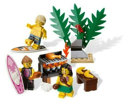 Lego Exclusives, 850449 Minifigure Beach Accessory Pack