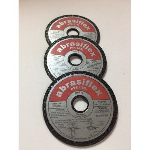MINI CUT OFF DISCS 50mm SUIT PROXXON, SONIC CUT OF SAWS. 3 PACK