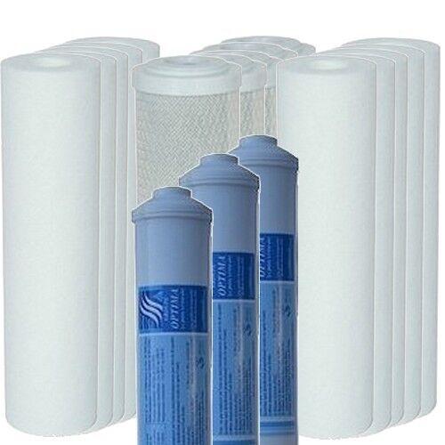 21 cartouches pour osmoseur domestique - 3 années d'entretien