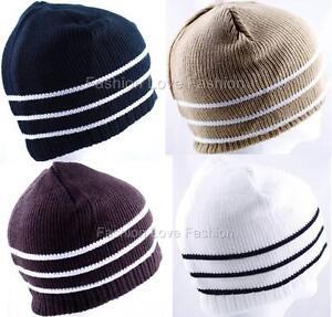 1-Pack-Mens-Boys-Winter-Ski-Beanie-Knit-Hat-Cap-7-Colors-to-Choose