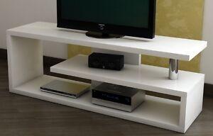 fernsehregal lowboard 140cm fernsehtisch fernsehrack tv rack tisch regal m bel ebay. Black Bedroom Furniture Sets. Home Design Ideas