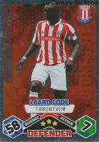 Abdoulaye Faye Senegal Stoke City.fc Rc.lens Card Premier League 2010 Topps