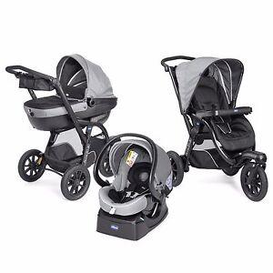 chicco stroller activ3 top travel system 3 in1 dark grey. Black Bedroom Furniture Sets. Home Design Ideas